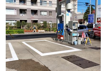 【土日休み!】未経験歓迎!ガソリンスタンド業務!